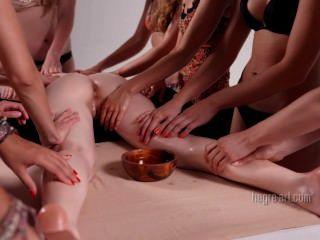 Hegre-art - 16 Hands Erotic Massage