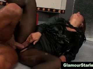 Wam Glam Clothed Hoe Gets Fucked