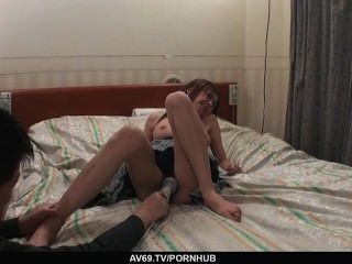 A Creamed Pussy Is Rina´s Reward For A Great Fuck