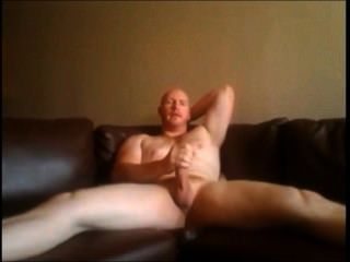 Fat Cock Truck Driver On Webcam ... At Home
