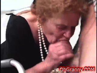 Redhead Granny Is A Dirty Naughty Slut