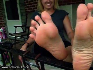 Stinky White Girl Feet