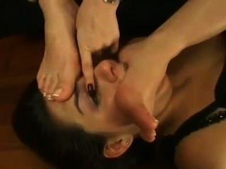 Lesbian Foot Domination 2