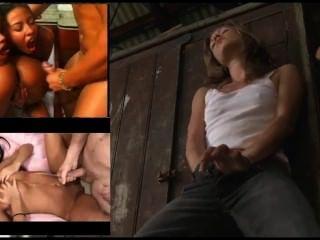 Women Masturbating Mixed With Body Cumshots