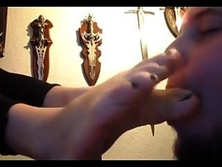 Gothic Girlfriend Foot Love